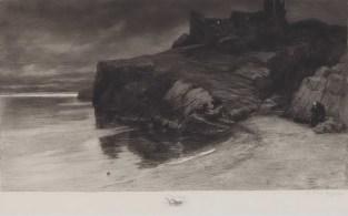 Zadnji potomak (posljednji roda svoga), 1898., bakropis - foto: Goran Vranić