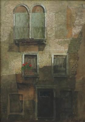 Safet Zec - Venecijanski prozori, ulje na platnu