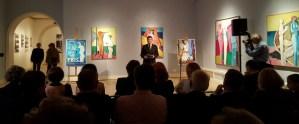 Nikola Albaneže, autor izložbe, otvorenje retrospektive Zlatka Price u Klovićevim dvorima