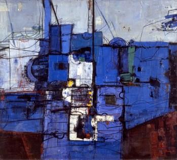 Kompozicija u plavom, 1961.