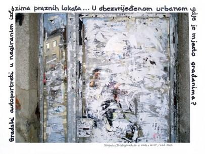 Trešnjevački autoportreti u negiranim izlozima praznih lokala, Zagreb, Gorjanska ul. 19, 19.5.2008., 11:17h