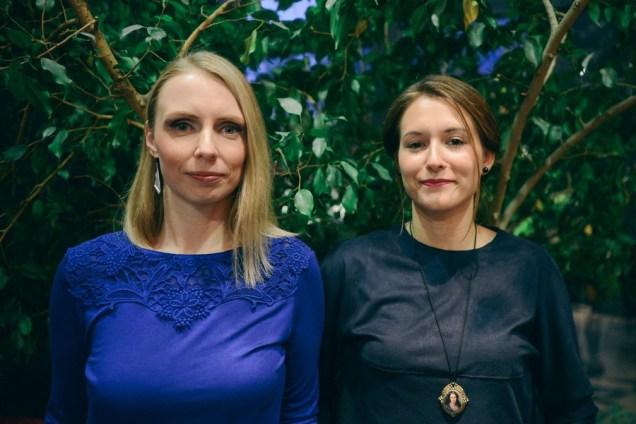 Ivana Bajcer i Sonja Švec Španjol; foto: Juraj Vuglač