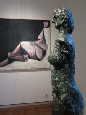 Detalj iz postava izložbe