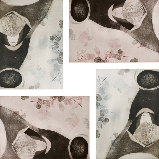 Kompozicija #5, 180x180 cm, 2009.