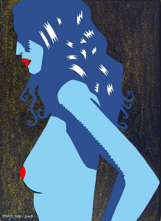 Nude, 2009, 50x35 cm, acrylic on canvas