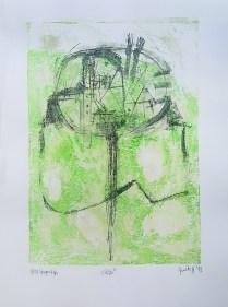 Judita Horvatinović - Alter ego, litografija 2012/2013