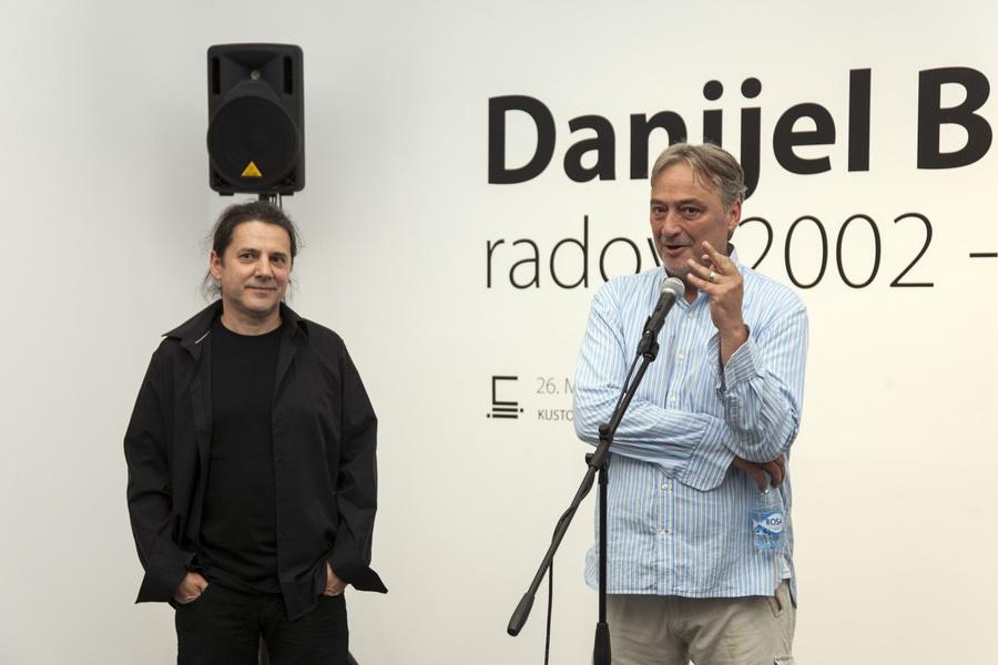 """Otvorenje izložbe """"Radovi 2002.-2017."""" u Muzeju savremene umetnosti Vojvodine, foto: Darko Babić"""