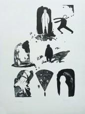 Dorotea Dugošija - Svjetlost, litografija 2014/2015
