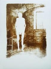 Mario Javoran - Svjetlost, litografija 2014/2015