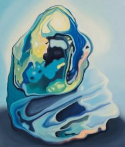 Urszula Kulczyk - Materia; ulje na platnu, 60x50 cm, 2016