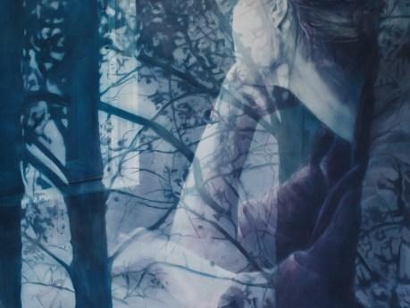 Verena Jakuš - How to kill the light; akrilik i ulje na platnu, 200x150 cm, 2016