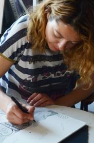 Mercedes Bratoš - stvaralački proces
