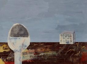 Karla Čurčinski - Radije bih…, 2016., akril/kreda, 24x32cm