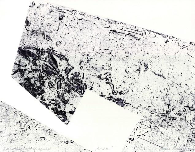 """Dajana Radoš - """"Dio M...""""; suha igla, bakropis, rezervaš, 41 x 32 cm, 2016."""