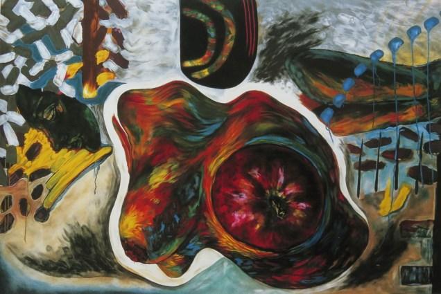 Charm guri-guri I, litografija, 1997.
