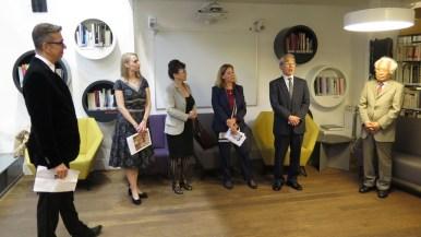 Otvorenje izložbe u nazočnosti veleposlanice Francuske u Hrvatskoj Nj. E. gđe. Corinne Menier i veleposlanika Japana u Hrvatskoj Nj. E. g. Keiji Takiguchija