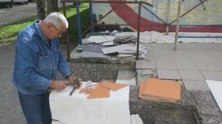 Proces izrade mozaika