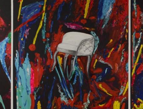 Blaženstvo - akril na platnu, 120x90cm, 2017.