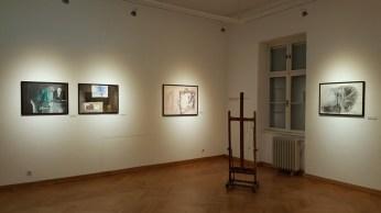 Postav izložbe Ivo Šebalj - Slikarstvo traži vrijeme u Muzeju likovnih umjetnosti u Osijeku