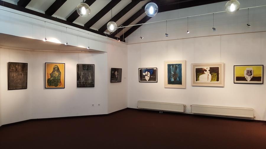 Postav izložbe Ivo Šebalj - Slikarstvo traži vrijeme u Centru za kulturu Čakovec