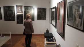 Postav izložbe Ivo Šebalj - Slikarstvo traži vrijeme u Muzeju grada Pakraca