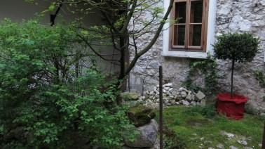 Hallstatt - dvorišta