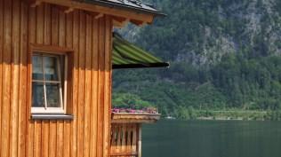 Hallstatt - balkoni i vrtovi