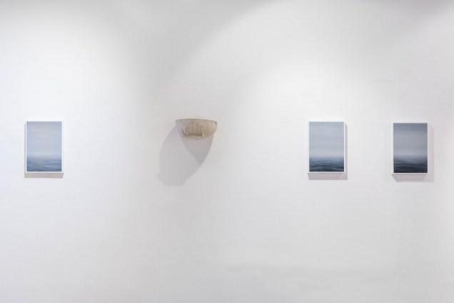 Andrea Musa - Svijet se i dalje kreće, postav izložbe, foto: Valentino Dražić Celić