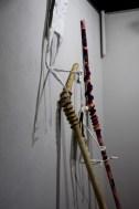"""Detalj s izložbe """"Slamka spasa"""" - Galerija Rondo, Mostar, 2017."""