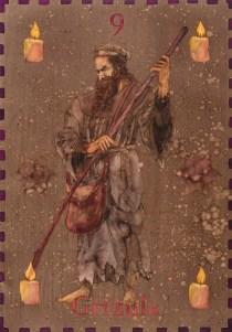 Siniša Reberski - Starac Grižula, akvarel na papiru, 50x70cm, 2019., foto: Josip Strmečki