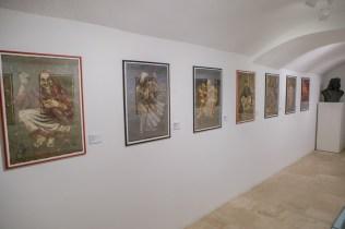 Siniša Reberski - Igra Vidre, postav izložbe, foto: Vedran Levi