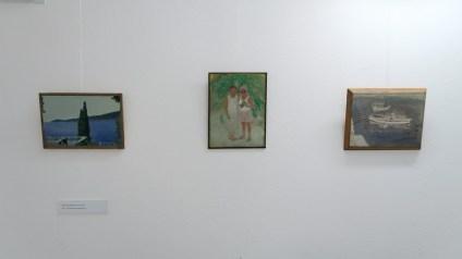 Skice iz obiteljskog albuma; ulje, jajčana tempera/karton, 1985.-1989.