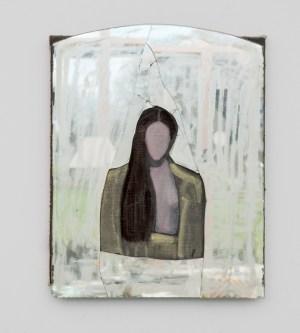 Zrcalo Madone; ulje, platno, zrcalo, 1994.-2014.