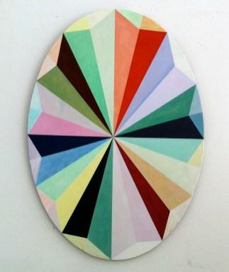 Ventilator; ulje, akrilik/prešano drvo, 2014.