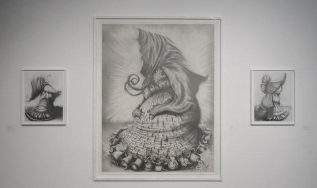 Sakupljačice, 2010., olovka na papiru
