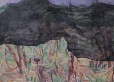 Siva luka, akvarel na papiru, 57x77cm