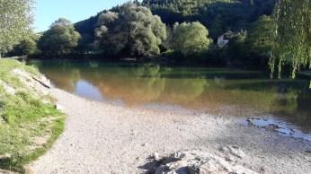 Rijeka Sana - kupalište