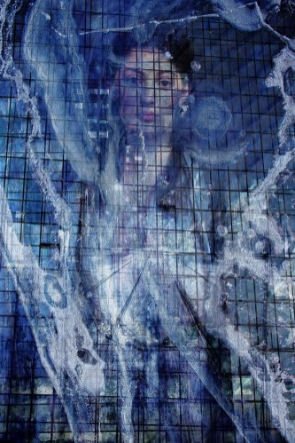 Brut Carniollus - Frosted; digitalni kolaž, 120x80cm, 2020.