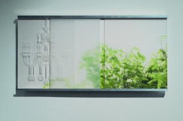 Luster slice - fotografija, digitalni ispis, digitalni ispis crteža, objekt, 2008./2016.