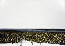Polje suncokreta I - kombinirana tehnika/ljepenka, 70x97,5cm, 2001.