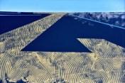 Meandar žitnog polja II, akrilik/ljepenka, 70x100cm, 2004.