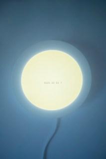 Ana Lazarevska - Koja si ti?, svjetleći objekt, 17x17cm, 2020.