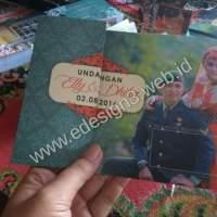 Undangan pernikahan Elly dan Dhika di Panyipatan