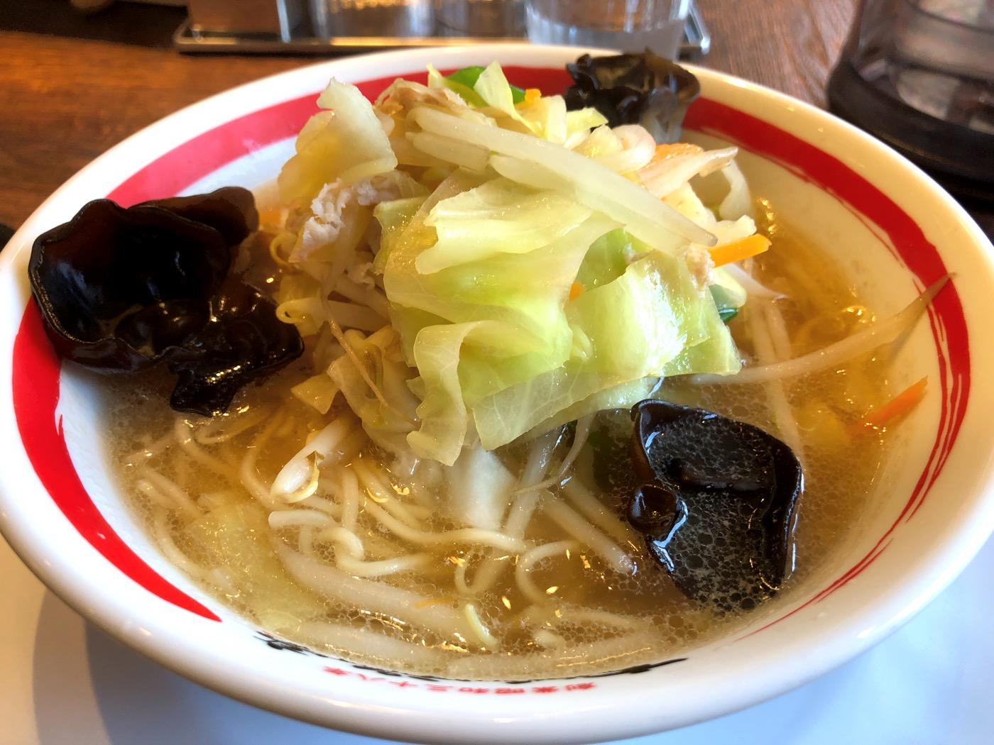 長崎ちゃんぽんとはひと味違う、近江ちゃんぽんを食べにいきました!