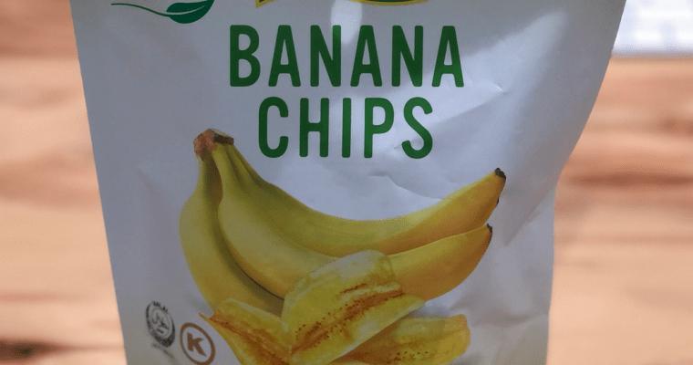 めっちゃハマります!バナナチップス