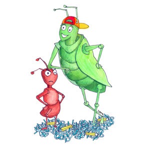 The Ant and The Grasshoper