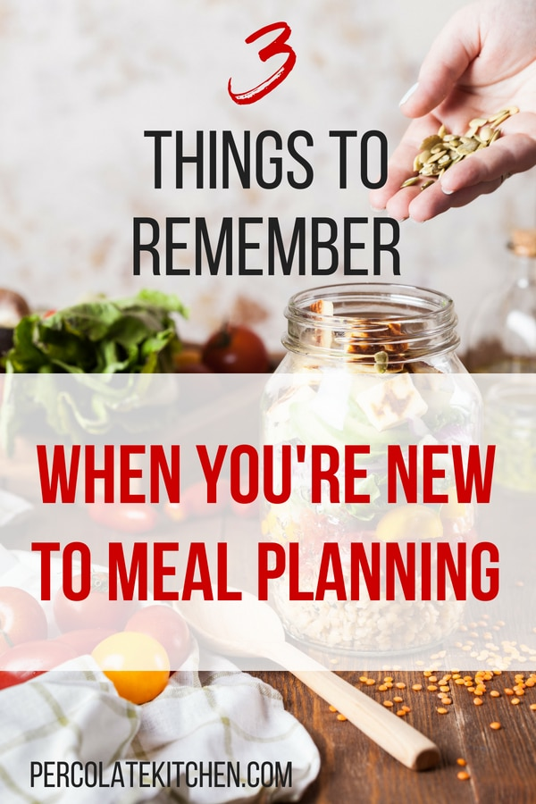 Comes with a free printable template, which is super handy. I hung it up on my fridge. I like the way she breaks this down for any meal plan beginner, with different meal planning tips and step-by-step how to start a meal plan.