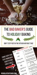I like how she lays out really easy to follow tips and ideas to be a better baker! I saved the pdf to my phone and it's super easy to use, with ingredient substitutions and little hacks i can use when I'm baking stuff like cookies or cake. Super handy!