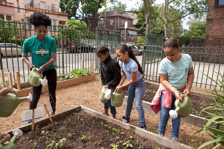 food corps kids gardening