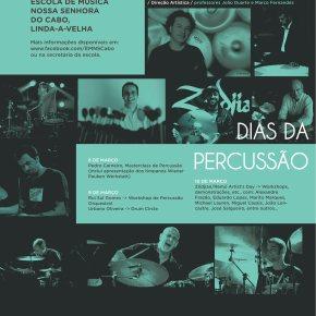 Cartaz Dias da Percussão